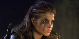 The-100-Season-three-Octavia-Blake-At-The-Campfire