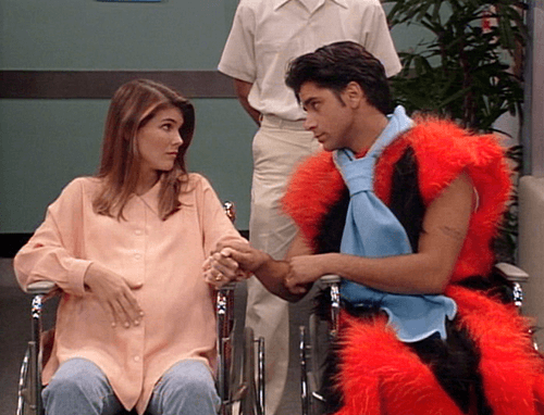 DJ And Steve. One Of The Other Long Term Relationships On Full House Was DJ  And Steve. Fewer Things Are As Fun To Watch On Television As Teenage Love  And ...