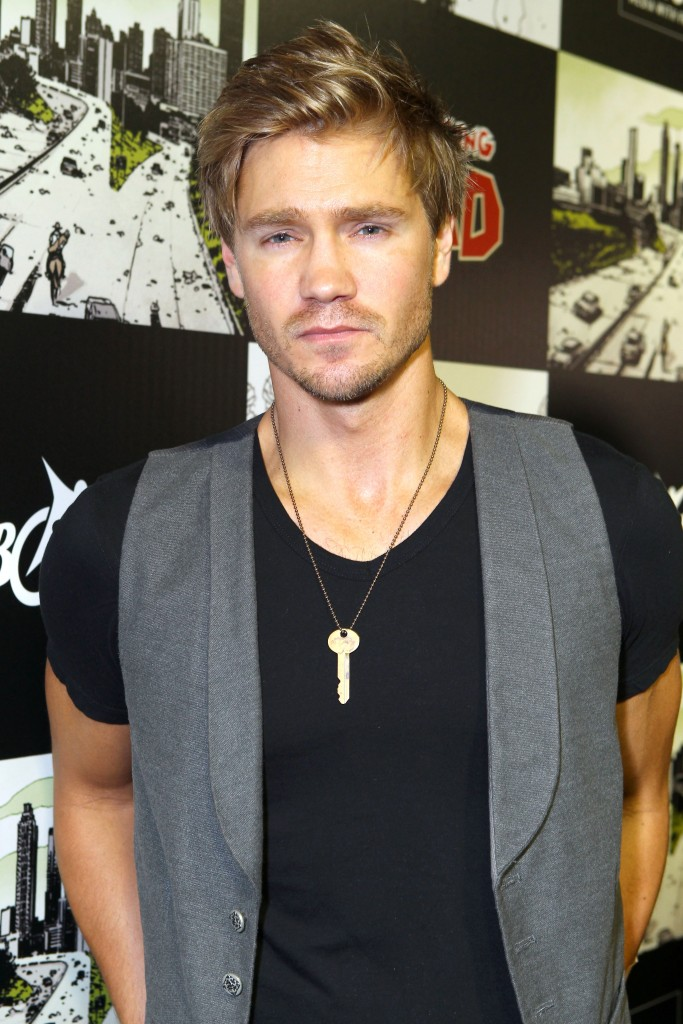 "SAN DIEGO, CA - JULY 13: Actor Chad Michael Murray attends ""The Walking Dead"" 100th Issue Black-Carpet event powered by Hyundai and Future US at PETCO Park on July 13, 2012 in San Diego, California. (Photo by Alexandra Wyman/Getty Images for Hyundai)"