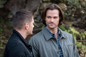 "Supernatural -- ""The Chitters"" -- Image SN1119b_0027.jpg -- Pictured (L-R): Jensen Ackles as Dean and Jared Padalecki as Sam -- Photo: Liane Hentscher/The CW -- © 2016 The CW Network, LLC. All Rights Reserved"