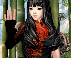 My Blade & Soul warlock, made after those monsters gave me a free character slot.