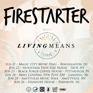 Firestarter Tour Flyer