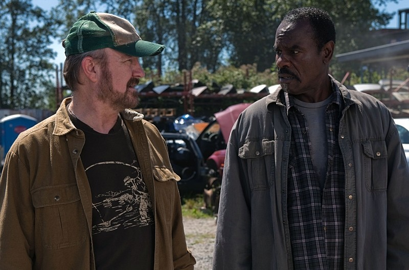 """""""Weekend at Bobby's"""" - Jim Beaver as Bobby and Steven Williams as Rufus in SUPERNATURAL on The CW. Photo: Jack Rowand/The CW ©2010 The CW Network, LLC. All Rights Reserved."""