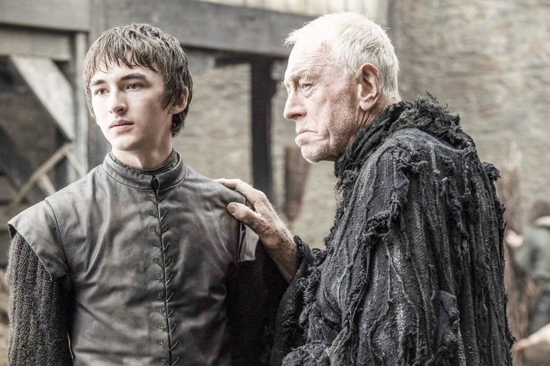 Bran Stark and the 3 Eyed Raven