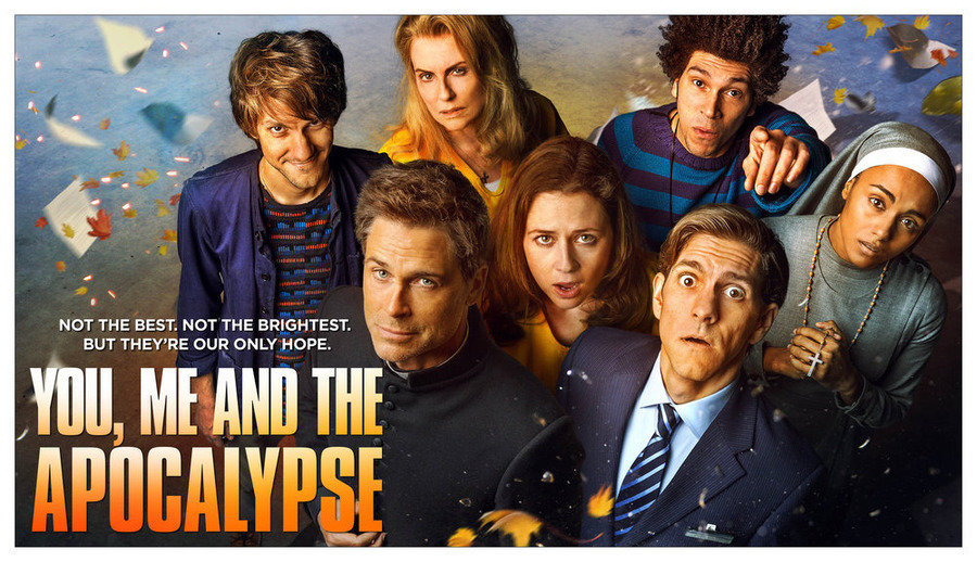 "YOU, ME AND THE APOCALYPSE -- Pictured: ""You, Me and the Apocalypse"" Season 1 Key Art -- (Photo by: NBC)"