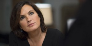 """LAW & ORDER: SPECIAL VICTIMS UNIT -- """"Internal Affairs""""  Episode 1504 -- Pictured: Mariska Hargitay as Detective Olivia Benson -- (Photo by: Michael Parmelee/NBC)"""