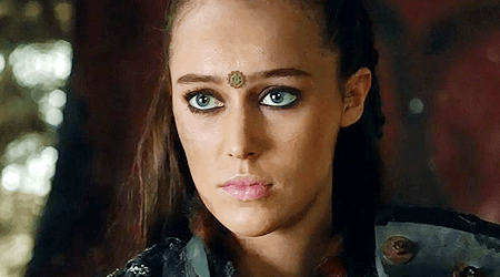 """Commander Lexa--arguably the spark of this revolt. A great character cheated out of a great exit, and minorities finally decided: """"I've had enough."""""""
